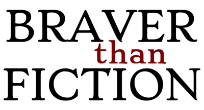 GRAPHIC: Braver than Fiction logo